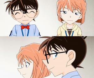 conan, haibara ai, and kaito kid image