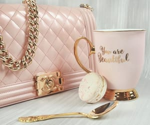 pink and chanel image