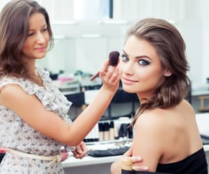 hairstyle, hair color, and makeup services image