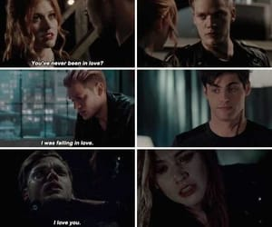 jace, clary, and shadowhunters image