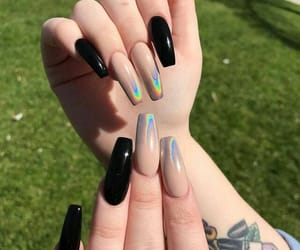 chrome, nails, and shape image