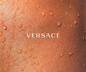 fashion, text, and Versace image