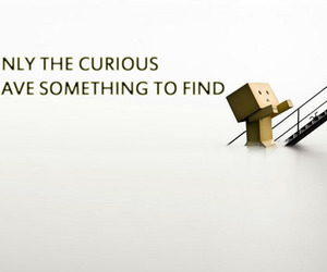 curious, danbo, and photo image