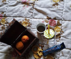 almonds, cup, and vintage image
