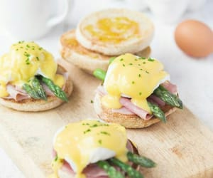 breakfast, eggs, and yummy image