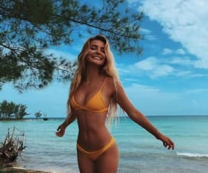 beach, blonde, and life image