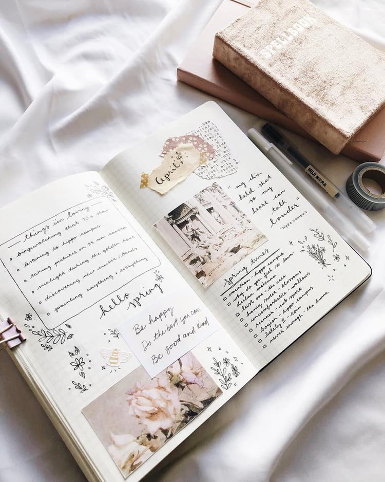 article, tips, and bullet journal image
