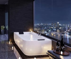 luxury, bathroom, and bath image