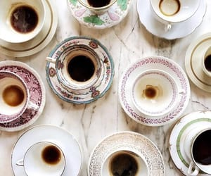 coffee, vintage, and cups image