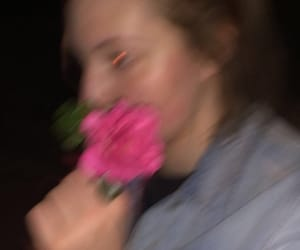 blur, night, and flash image