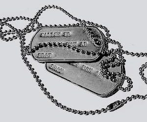 dog tags and aesthetic image