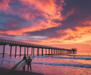 beach, beautiful, and couples image
