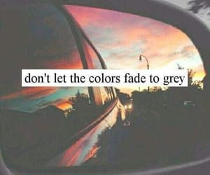 quotes, colors, and fade image
