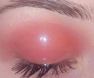beauty, eye, and gloss image