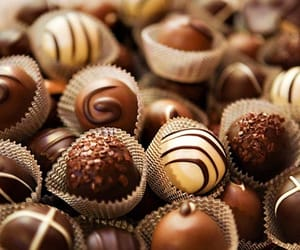 chocolate, sweet, and food image