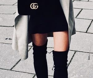 dress, goals, and fall image