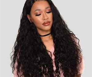 human hair wigs, lace front wigs, and 360 lace wigs image