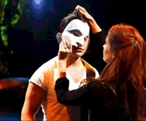 gif, Phantom of the Opera, and musicals image