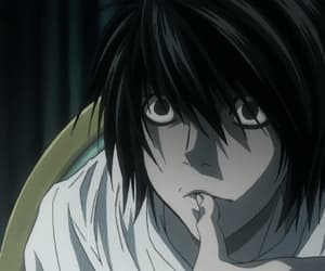 anime, death note, and gif image