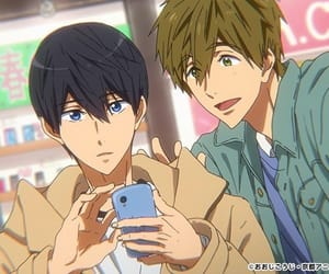 anime, boy, and makoharu image
