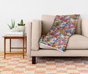 blanket, colorful, and home image