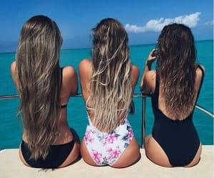 girlfriends, longhair, and summer image