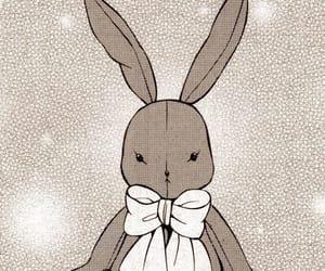anime, rabbit, and sad image