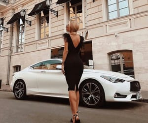 auto, blonde, and car image