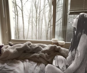 anime, bedroom, and girl image