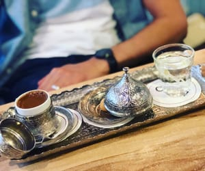 coffe, turkish coffee, and vacation image
