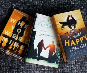 books, gayle forman, and happy image
