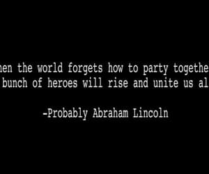 abraham lincoln, world, and heroes image