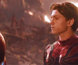 spiderman, tom holland, and gif image