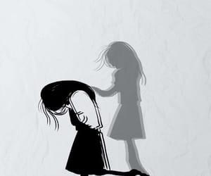 alone, art, and sad image