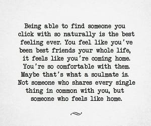 quotes, soulmate, and love image