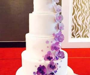day, cake wedding, and flowers image