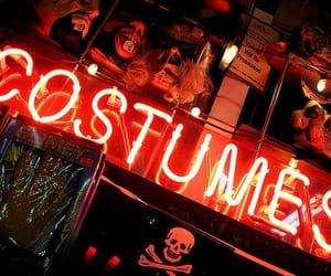Halloween, costumes, and neon image