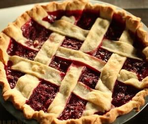 cherry, cherry pie, and cottage image
