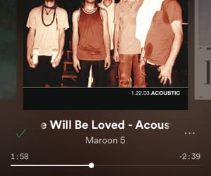 classic, maroon 5, and she will be loved image