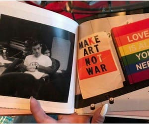 art, wars, and Harry Styles image