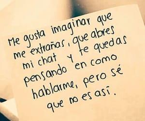 P, frases en español, and me gusta imaginar image