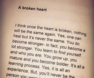broken heart, couple, and friend image