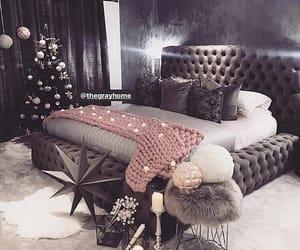 bedroom and christmas image