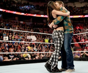 wwe, brie bella, and daniel bryan image