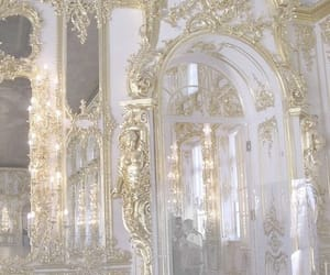gold, white, and architecture image