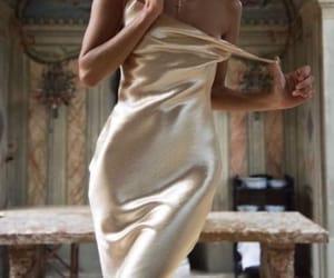 dress, girl, and glamour image