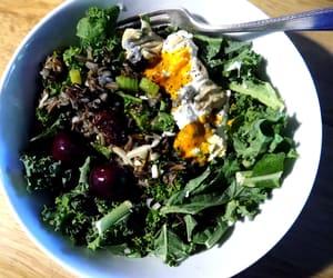 food, vegan, and green image
