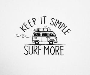 inspiration, surf, and quote image