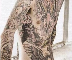 bring me the horizon, Tattoos, and oliver sykes image