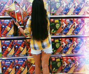 amor, supermarket, and hair image